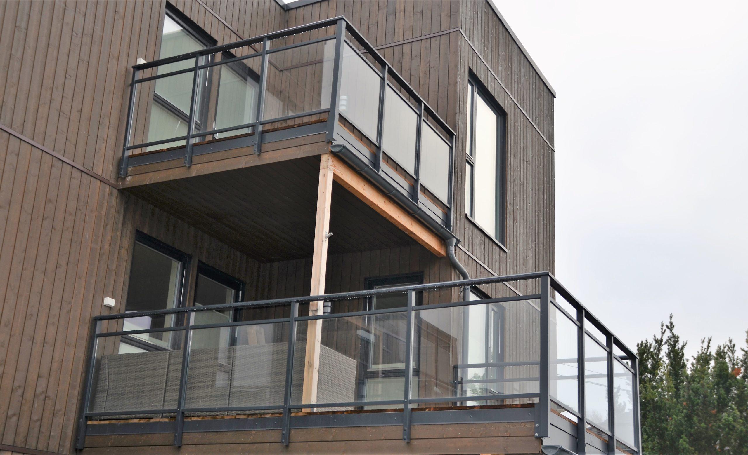 Rekkverk i aluminium til dine prosjekter